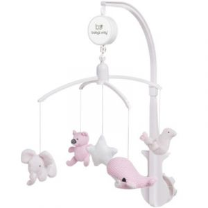 Baby's Only Muziekmobiel classic roze/baby roze/wit