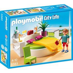 Playmobil 5583 City Life - Chambre avec lit rond