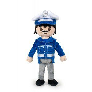 Playmobil Peluche Police Qualité super soft 30 cm