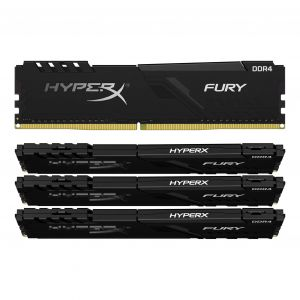 Kingston HyperX Fury 64 Go (4 x 16 Go) DDR4 3466 MHz CL16