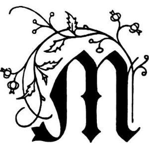 Herbin Sceau M à vis carré avec manche en bois