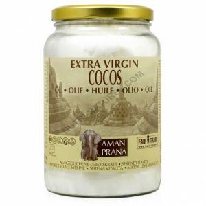 Aman Prana Huile extra vierge coco bio - 1600 ml