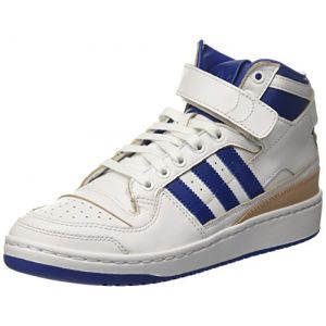 Adidas Originals Forum Mid - Baskets montantes en cuir - blanc