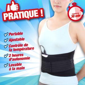 Hestec Ceinture chauffante Portable