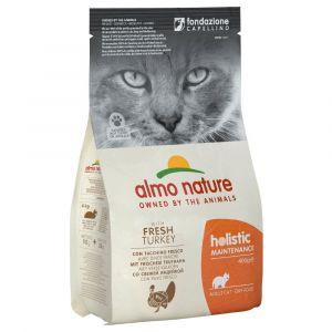Almo Nature 400g Holistic dinde, riz Nature Croquettes pour chat