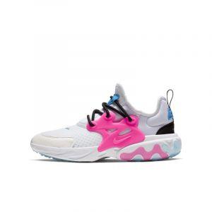 Nike Chaussure React Presto pour Enfant - Blanc - Taille 38
