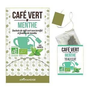 Aromandise Café Vert Menthe 20 sachets