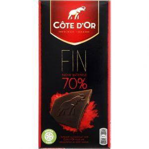 Côte d'Or Chocolat noir 70% - La tablette de 100g