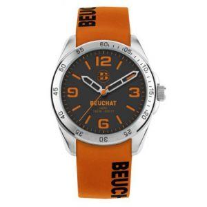 Beuchat BEU0346/93 - Montre mixte avec bracelet en silicone
