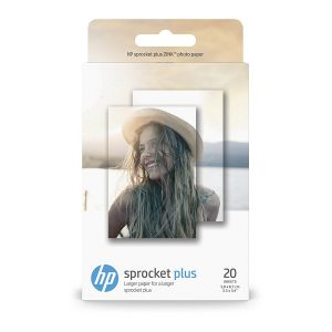 HP ZINK Sticky-Backed - Papier photo x20 - 5,8 x 8,7 cm