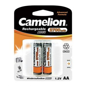 Camelion Batterie rechargeable 2 accus R06 / AA / 2700 mAh