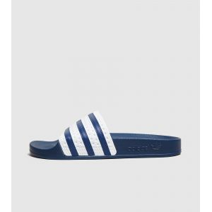 Adidas Adilette, Chaussures de Plage et Piscine Homme, Bleu (Adiblue/Adiblue/White), 40.5 EU