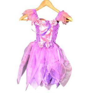 LGRI Déguisement robe féérique violette