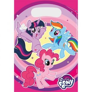 Amscan 8 sacs cadeaux My Little Pony