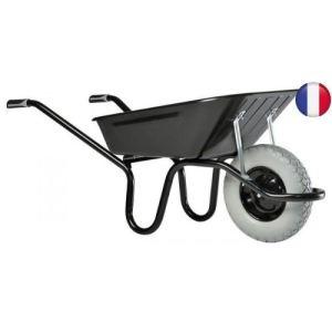 Haemmerlin 305254101 - Brouette Aktiv Excellium peinte roue increvable 100 L