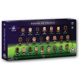 SoccerStarz Pack de 24 figurines Equipe de France à la Coupe du Monde