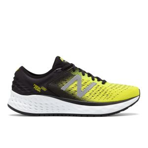 New Balance Chaussures running New-balance Fresh Foam 1080v9 - Black / Yellow / White - Taille EU 42
