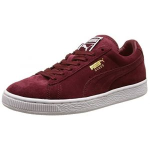 Puma Suede Classic +, Sneakers Basses mixte adulte, Rouge