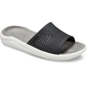 Crocs Claquettes LITERIDE SLIDE Noir - Taille 36 / 37,38 / 39,42 / 43,37 / 38,39 / 40,41 / 42
