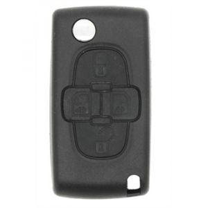Neoriv Coque de clé télécommande adaptable + lame PSA408C