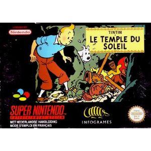 Tintin et le Temple du Soleil sur Super NES