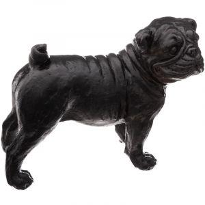 Atmosphera Statuette de chien en résine BULD