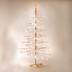 Trevi XMas3 SKU203 kit sapin de noel hauteur : 190 cm Couleur bois naturel