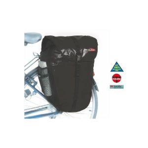 Massi Paire de sacoches arrière CM 226 Double Imperméable Noir