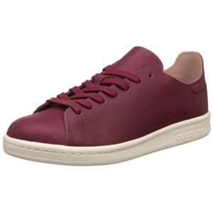 Adidas Stan Smith Nude, Sneaker Bas Cou Femme, Rouge (Collegiate Burgundy/Off White), 37 1/3 EU