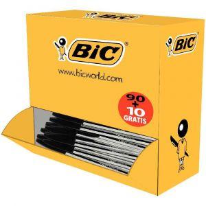 Bic Cristal Eco Pack de 90 stylos à bille noir + 10 gratuits