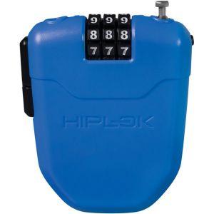 Hiplok FX - Antivol - avec réflecteur bleu Câbles antivol