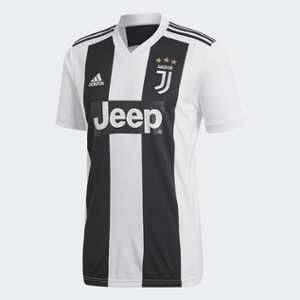 Adidas Juventus Domicile Maillot de Football Homme, Noir, Blanc, FR : M (Taille Fabricant : M)