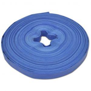 VidaXL Tuyau plat 50 m 1 pouce PVC