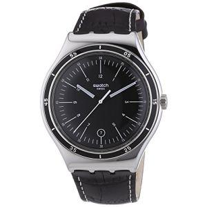 Swatch Trueville YWS400 - Montre mixte avec bracelet en cuir
