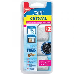 API Fishcare Dose crystal taille 2 (x 3)