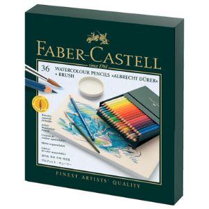 Faber-Castell 36 Crayons de couleur aquarellables Albrecht Durer