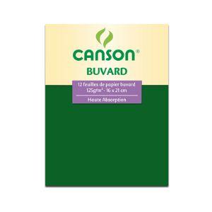 Canson 12 feuilles de papier buvard Pochette Beaux-Arts  (16 x 21 cm)