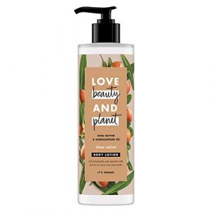Love Beauty and Planet Lait Corps Nutrition Veloutée 400ml