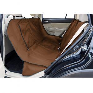 Ruffwear Housse de siège auto et hamac pour chien, Taille unique - Convient à la plupart des véhicules, Marron (Trailhead Brown), Dirtbag Seat Cover, 35851-206