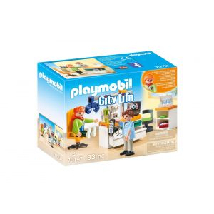 Playmobil 70197 - Cabinet d'ophtalmologie City Life
