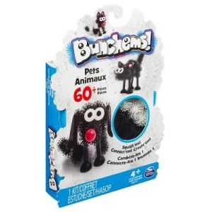 Spin Master Coffret Bunchems animaux (60 pièces)