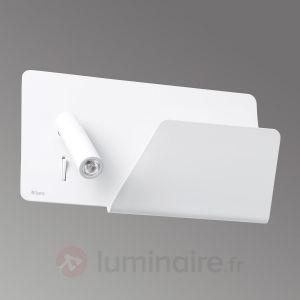 Faro 62122 SUAU USB - Lampe applique blanche avec lecteur LED droite