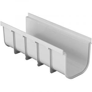 First Plast Caniveau PVC Pratiko Série 200 HAUT - 200x500mm - Profondeur 185mm -