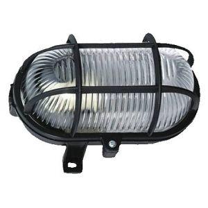 Brennenstuhl Lampe ovale colorées IP44 60W noir