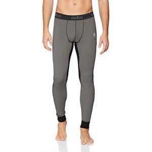Image de Odlo Vêtements intérieurs Active Revelstoke Warm Suw Bottom - Black / Steel Grey - Taille L