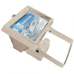 Electraline projecteur halogene 400W blanc