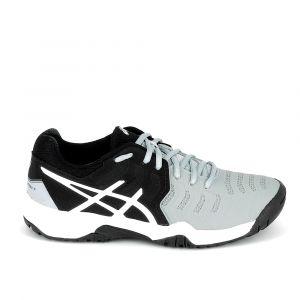 Asics Chaussures enfant Gel Resolution 7 K Noir Gris Noir - Taille 34 1/2