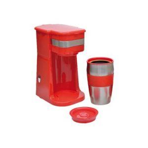 Domoclip DOD118 - Mini cafetière avec mug de voyage