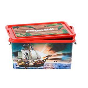 Playmobil 064661 - Boîte de rangement et boîte à compartiments Pirates