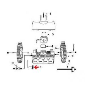 Procopi 1021024 - Engrenage principal de robot Victor